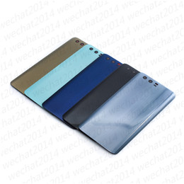 Cover Case huawei honor online shopping - 50PCS New Back Glass Cover Battery Door Housing Case With Adhesive Camera Lens Speaker Mesh for Huawei Honor