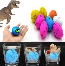 Dinosaur eggs hatching toy online shopping - 2 cm Magic Water Growing Egg Hatching Colorful Dinosaur Add Cracks Grow Eggs Cute Children Kids Toy Novelty Items CCA10541