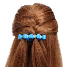 Wholesale 2 Colors Lady French Hair Braiding Tool Weave Braid Roller Hair Twist Styling Bun Maker DIY Band Accessories