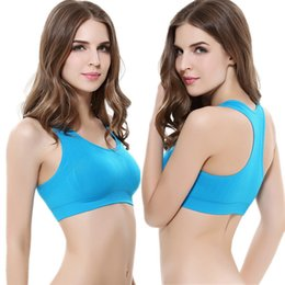 7ca8612fe61ca High-Strength Shockproof Without Steel Ring Running Yoga Bra Vest Gym  Athletic No Trace Adjustment Gathering Sleep Sports Bra