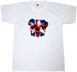 Jack Shirts NZ - BRITISH BULLDOG T-SHIRT 100% COTTON UNION JACK BRITAIN ENGLAND ENGLISH T SHIRT