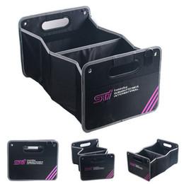 Imperméable Oxford Tissu Pliable Grove Boîte Organisateur Boîte De Coffre Pour JDM Subaru WRX STi BRZ Impreza Voitures en Solde