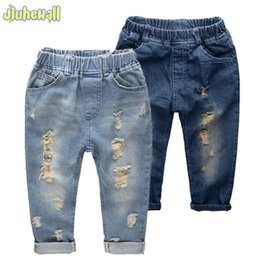 67fd92a54a877 8 Size Children Denim Pants Boy Girls Ripped Jeans Baby New Arrivals Jeans  2017 Kids Casual Trousers High Quality Clothes CYB757
