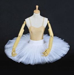 $enCountryForm.capitalKeyWord Australia - White Hard Tulle Half Ballet Tutu Kids White Swan Practicing Classical Ballerina Black Swan Ballet Tutu Costume For Women Red Ballet Half