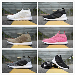 47eefd2da 2018 New ACE 16 + PureControl Ultra Beckham Uncaged Casual Socks Running  Shoes Top quality Mens Women White Black Pink Sports Sneakers 36-45