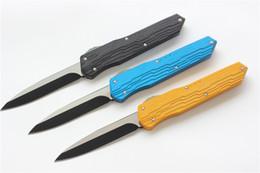 Tactical Defense Gear Australia - VESPA Knife M390 blade 7075Aluminum+TC4 Handle survival knives camping hunting knife Tactical gear outdoor EDC Tools