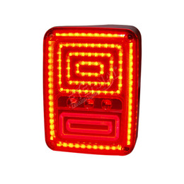 China free shipping offroad Wrangler LED tail light turn run signal reverse lamp for car auto accessories JK 07-15 offroad vehicles 4x4 pickup suppliers