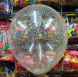 $enCountryForm.capitalKeyWord NZ - 12 inches Magic balloonNew Mixed Color Latex Sequins Filled Clear Balloons Novelty Kids Toys Beautiful Birthday Party Wedding Decorations