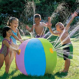 $enCountryForm.capitalKeyWord NZ - Inflatable 75cm PVC Water Ball Balloons Summer Swimming Pool Play Party Water Game Fountain Ball Beach Sport Kids Funny Toys