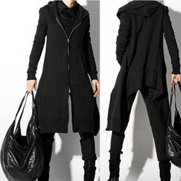 $enCountryForm.capitalKeyWord Canada - S-XXXL 2018 casual Japanese and Korean cardigan trench coat European and American personality hip hop singer costumes