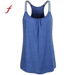 2e7658819f446 Feitong Women summer tops Fashion Women s Solid Scoop Neck Vest Tops Cute  Workout Women Ladies Tank Top Camis camisetas mujer 50