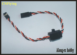 FREE SHIPPING receiver to ESC SWITCH WITHE WIRE (5PCS) for airplane hobby plane  RC model airplane rc car on Sale