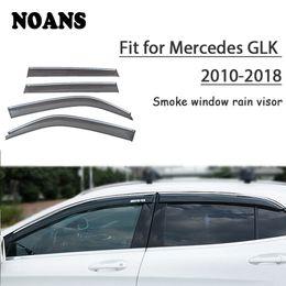 mercedes window sticker 2019 - NOANS 4pcs stickers For Mercedes GLK 300 200 260 2018 2017-2013 Car Styling Accessories Windows Sun Rain Visor Door Shie