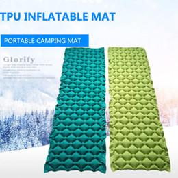 $enCountryForm.capitalKeyWord NZ - 2018 Outdoor Camping mat Inflatable Beach Picnic Mat Air Mattress Air Bed Portable Ultralight Moistureproof Sleeping Pad