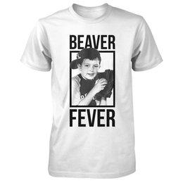 Großhandel Jerry Mathers Offizielle Beaver Fever Herren T-Shirt Kleidung Mode Männer T-Shirt Kostenloser Versand Top tee Männer Lastest