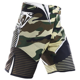 mma fights shorts 2019 - 2018 New Summer Camouflage Shorts MMA Fight Synthetic Fighting Muay Thai Jiu-Jitsu Sanda Breathable Fitness Clothing che