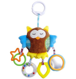 $enCountryForm.capitalKeyWord UK - JJOVCE Newborn Baby Boy Girl Cute Cotton Rattles Infant Animal owl bear monkey Hand Bell Kids Plush Toy Development Gifts 40%off