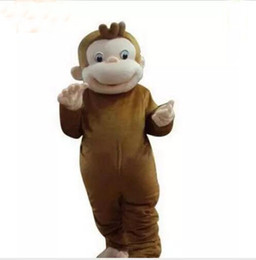 $enCountryForm.capitalKeyWord Canada - hot sale New high quality Curious George monkey Adult mascot costume fancy party dress Halloween costume summer hot sale
