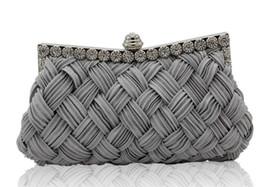 Crystal Diamond Fabrics NZ - 2018 Women Evening Bags Ladies Wallet Wedding Bag Wedding Party Clutch Bag Crystal Gold Diamonds Purses