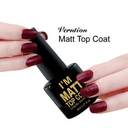 $enCountryForm.capitalKeyWord NZ - Verntion Hot Sale Frosted Surface Matt Top Coat Long-lasting Nail Gel Soak Off 8ML Professional Gel Lacquer Set Manicure
