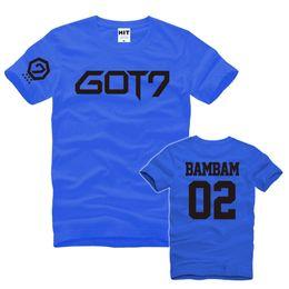 105a3af9c55 GOT7 BAMBAM 02 Printed Mens Men T Shirt T-shirt Fashion 2016 New Short  Sleeve O Neck Cotton Tshirt Tee Camisetas Masculina