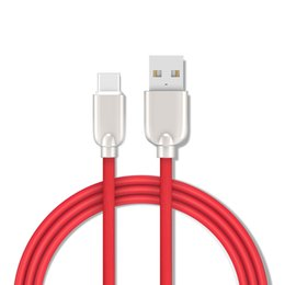 alloys chinese UK - 1.5M Zinc Alloy TPE Round 1m 3ft Type C Micro Usb data sync charger cable Accessory Bundles for samsung