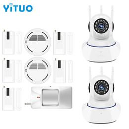 $enCountryForm.capitalKeyWord NZ - Wireless door gap PIR Wifi 720P IP Camera For Home Security Alarm System Wifi Alarm System Camera Surveillance Device YITUO