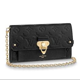 $enCountryForm.capitalKeyWord NZ - 2019 CHAIN WALLET M63398 black Real Caviar Lambskin Chain Flap Bag LONG CHAIN WALLETS KEY CARD HOLDERS PURSE CLUTCHES EVENING