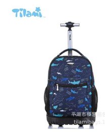 kids backpacks wheels Australia - wheeled Backpacks for school Kids Rolling School Backpacks bag kids rolling suitcase children luggage trolley backpacks bag