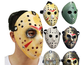 hockey masks Australia - Archaistic Jason Mask Full Face Antique Killer Mask Jason vs Friday The 13th Prop Horror Hockey Halloween Costume Cosplay Mask in stock