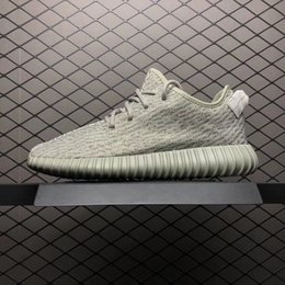 Turtle Dove Box Australia - 2019 New Authentic 350S Kanye West Turtle Dove Blugra White AQ4832 Mens Running Shoes Oxford Tan Lgtsto Sneakers Sports With Box