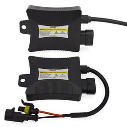 Safego 2pcs 12V hid xénon ballast 55W numérique slim xénon caché ballast 55w bloc allumage pour kit H7 H4 H1 H3 H11 en Solde