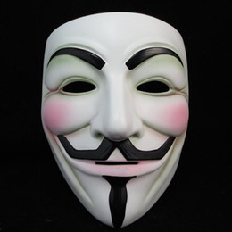 $enCountryForm.capitalKeyWord UK - Face Mask Halloween Details about NEW V for Vendetta Anonymous Film Guy Fawkes Fancy Cosplay 1000 pcs lot fedex free shipping