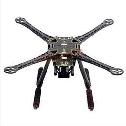 Helicopter frames online shopping - SK500 frame carbon black arm F450 Tripod upgraded version S500 four axis rack carbon fiber tripod strengthen upgraded version