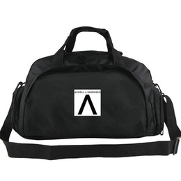 Wholesale music logos online – design Axwell Ingrosso duffel bag A logo tote Top DJ music backpack Trip luggage Exercise shoulder duffle Outdoor sling pack