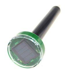 Solar Snake repeller online shopping - 220 V Solar Power Eco Friendly Scentless Ultrasonic Gopher Mole Snake Mouse Pest Reject Repeller Control For Garden Yard