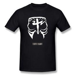 Painting Faces UK - Custom T Shirts Men's Tech N9ne Face Paint Logo T-shirt Black