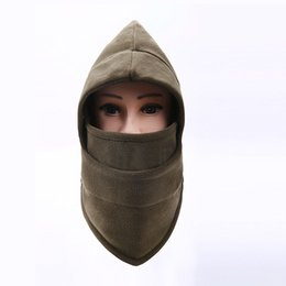 Chinese  Winter Warm Fleece Beanies Hats Skull Bandana Neck Warmer Balaclava Snowboard Face Mask Wargame Special Forces Mask manufacturers