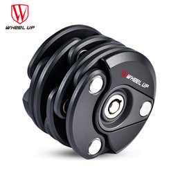 mini electric lock 2019 - WHEEL UP Foldable Portable Mini Bike Lock Motorcycle Electric Bicycle High Security Drill Resistant Lock Cylinder 3 Colo