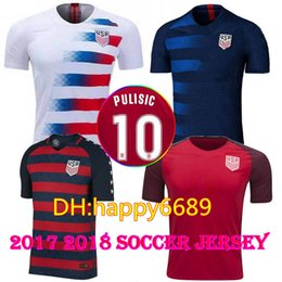 b667cb3fa 8 Photos Donovan Soccer Jersey Canada - Thai quality 10 PULISIC 2018 Gold  Cup soccer home away Jerseys