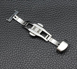 HOT SELL Stainless steel watch accessories watch buckle Folding clasp
