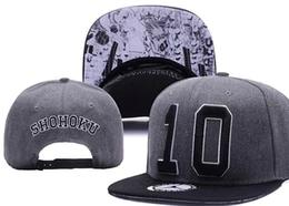 $enCountryForm.capitalKeyWord Australia - 2018 Number 10 SHOHOKU Snapbacks Fashion Hip Hop Cap Spackjam Snapback Caps Snap Backs Baseball Hats Casual Street Sun Hat For Sale