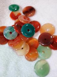 $enCountryForm.capitalKeyWord NZ - Chinese colorful agate donut pendant free shipping B3