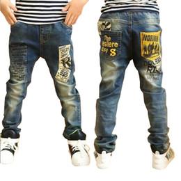 $enCountryForm.capitalKeyWord Canada - Children clothes boys long style cotton jeans 3-13 Y teenage Autumn spring denim trousers teenage boy trousers casual pants Y18103008