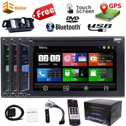 "2din gps radio Canada - Double 2Din 6.2"" Car Radio Stereo Autoradio Bluetooth RDS Receiver Reverse Camera GPS Car DVD Player USB SD Aux Steering wheel Control"
