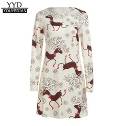 $enCountryForm.capitalKeyWord Canada - 2017 Ladies Christmas Dresses Long Sleeve Mini Dress Party Evening Robe Femme Women Clothes Plus Size 3XL Vestidos Mujer #1109