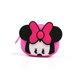 Silicone wallet zipper online shopping - Soft silicone Coin Purse Women Small Wallet Change Purses Mini Zipper Money Bags baby girl Children s Pocket safety Wallets