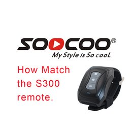 Rechargeable Shockproof Camera Australia - How macth the SOOCOO S300 and the bluetooth remote. Bluetooth action camera Remote control For SOOCOO S300 sport camera