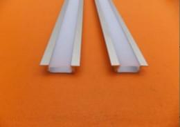 Aluminum Recessed Ceiling Lights Australia - Free Shipping Aluminum LED Architecture Profile For LED Strips light aluminum extrusion aluminum channel for Recessed Ceiling Decoraion