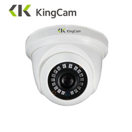 China KingCam 1080P Sony IMX323 720P OV9732 Sensor AHD Analog SMD led Surveillance Camera 2500TVL CCTV Security Dome Cameras supplier cctv ahd camera suppliers